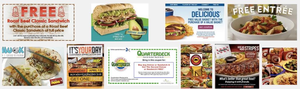 Restaurant Offers