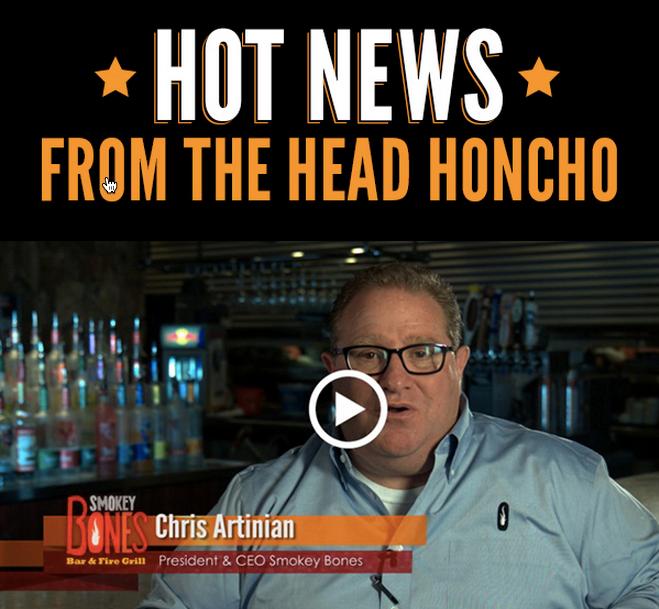 Smokey Bones CEO Video Email | NextRestaurants