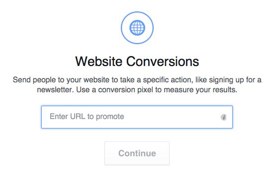 Facebook Website Conversions