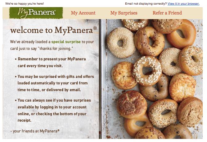 MyPanera Email