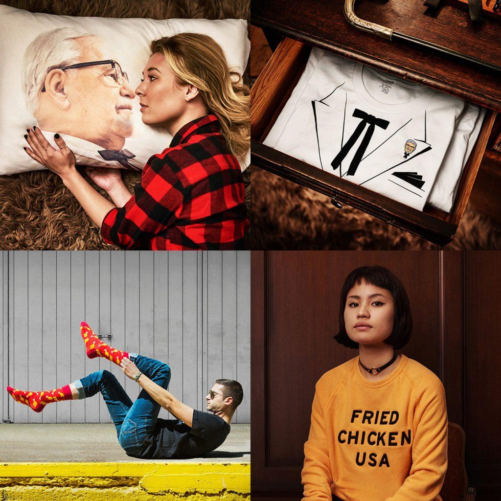 KFC Clothing Line Promo
