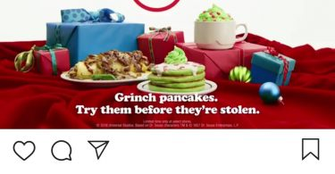 ihop christmas instagram