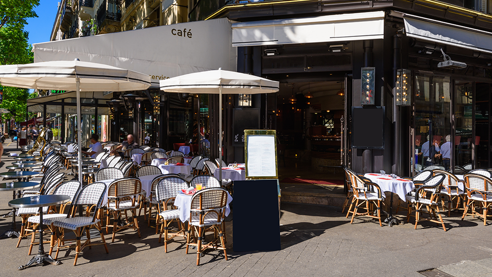 Restaurant Outdoor Seating Design