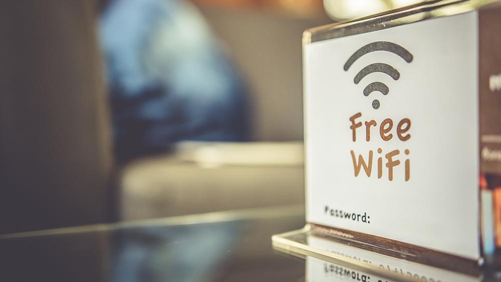 free wi-fi restaurant