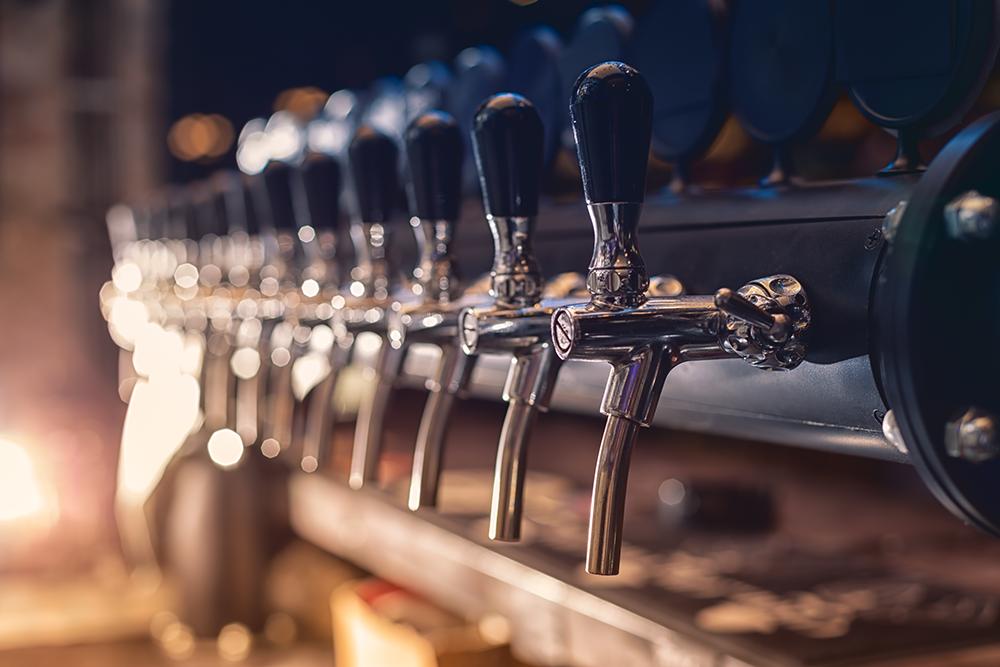 restaurant nettoyage de ligne de bière