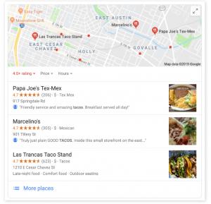 90% des personnes recherchent un restaurant en ligne avant d'y dîner
