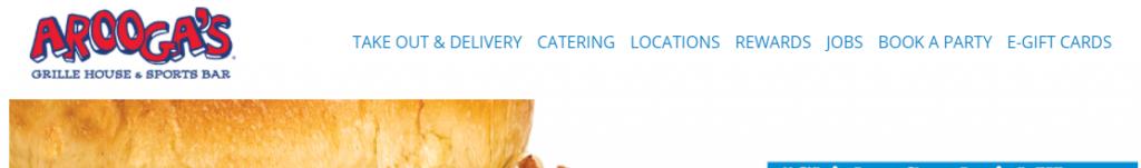 Nawigacja w witrynie restauracji